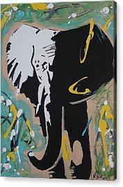 King Elephant Acrylic Print