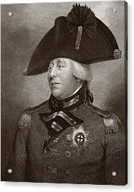 King George IIi Of Great Britain And Acrylic Print