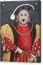 King Gunther The 8th Acrylic Print by Diane Daigle