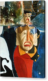 Acrylic Print featuring the painting King In Peace by Sima Amid Wewetzer