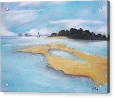 King Island Acrylic Print