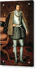 King James I Acrylic Print