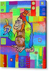 King Konrad The Monkey Acrylic Print