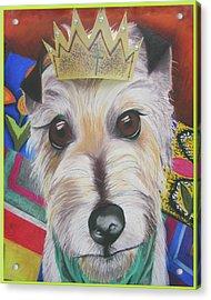King Louie Acrylic Print by Michelle Hayden-Marsan