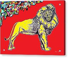 King Of Beasts By Taikan Acrylic Print