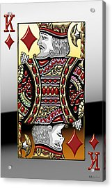 King Of Diamonds   Acrylic Print