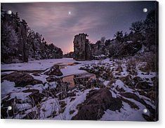Acrylic Print featuring the photograph King Of Frost by Aaron J Groen