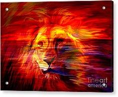 King Of Glory Acrylic Print