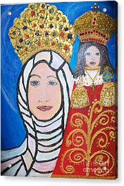 King Of Kings And The Queen Mother Acrylic Print