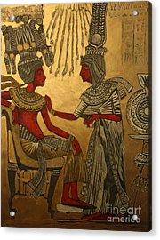 King Of Kings Acrylic Print by Michael Kulick