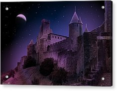 Acrylic Print featuring the photograph King Of My Castle by Bernd Hau