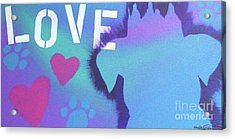 King Of My Heart Acrylic Print by Melissa Goodrich