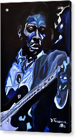 King Of Swing-buddy Guy Acrylic Print