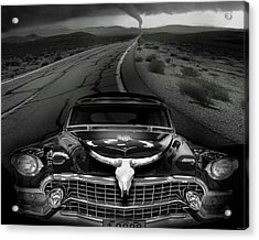 King Of The Highway Acrylic Print by Larry Butterworth