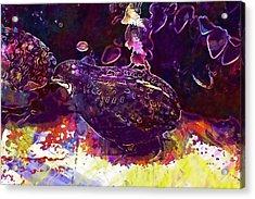 King Quail Species Pheasant Like  Acrylic Print