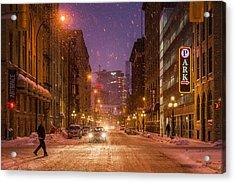 King Street Acrylic Print by Bryan Scott