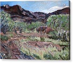 Kings Canyon II Acrylic Print by Joan De Bot