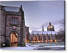 King's College - University Of Aberdeen Acrylic Print