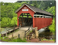 Kings Covered Bridge Somerset Pa Acrylic Print