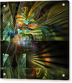 Acrylic Print featuring the digital art Kings Ransom by NirvanaBlues
