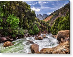 Kings River Acrylic Print