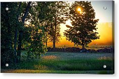 Acrylic Print featuring the photograph Kingsbury Sunset by Kendall McKernon