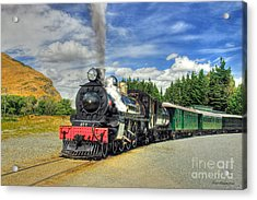 Kingston Flyer Acrylic Print