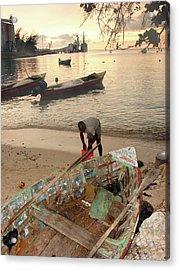 Kingston Jamaica Beach Acrylic Print