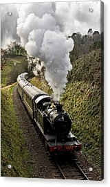 Kingswear To Paignton Train Acrylic Print