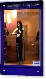 Kink O Clock Acrylic Print by Jez C Self