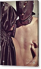 Kinky Play Man And Woman Acrylic Print