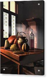 Kinzeliin Still Life 1 Acrylic Print by Dave Luebbert