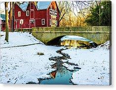 Kirby's Mill Landscape - Creek Acrylic Print