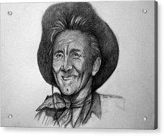 Kirk  Douglas Acrylic Print