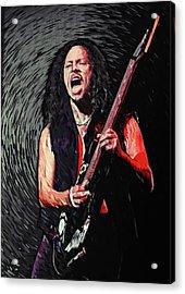 Kirk Hammett Acrylic Print