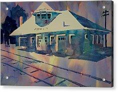 Kirkwood Train Station Missouri Acrylic Print