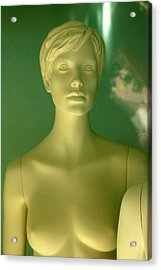 Kirsty Acrylic Print by Jez C Self