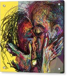 Kiss Me You Big Dick Acrylic Print by James Thomas