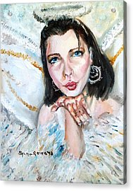 Kiss Of An Angel Acrylic Print