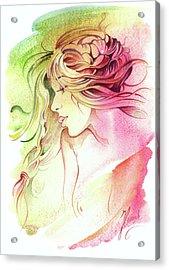 Kiss Of Wind Acrylic Print
