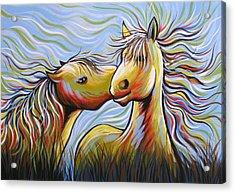 Kisses Acrylic Print