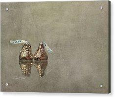 Kisses Acrylic Print by Evelina Kremsdorf