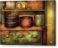 Kitchen - Food - The Cake Chest Acrylic Print by Mike Savad