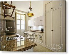 Acrylic Print featuring the photograph Kitchen Apartment In The Heart Of Cadiz by Pablo Avanzini