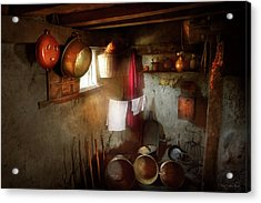 Acrylic Print featuring the photograph Kitchen - Homesteading Life by Mike Savad