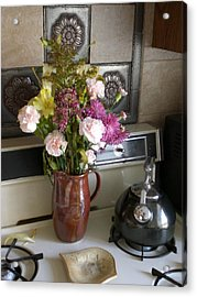 Kitchen In The Morning Acrylic Print