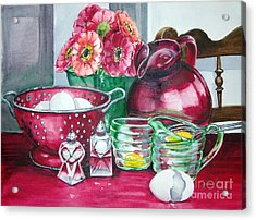 Kitchen Kitsch Acrylic Print
