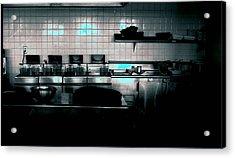 Kitchen Acrylic Print by Michael Morrison
