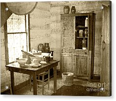 Acrylic Print featuring the photograph Kitchen by Pete Hellmann