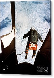Kittinger Acrylic Print by SPL and Photo Researchers